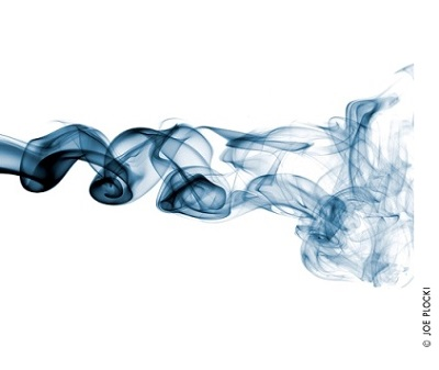 swirling smoke